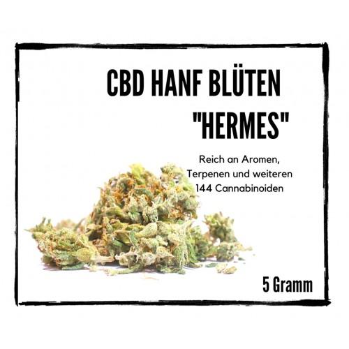"""CBD Blüten """"Hermes"""" - Sour Cream Indoor CBD Hanf"""