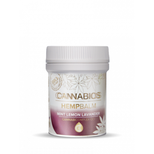 Cannabios Hempbalm Mint Lemon Lavender, 50ml