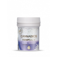 Cannabios Hempbalm Teatree and Rosemary, 50ml