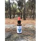 CBD Öl  Hanfblüten Kalt-Extrakt Voll Spektrum 2,5% Flasche 20ml