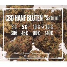 "CBD Blüten ""Saturn"" - Sour Widow Indoor CBD Hanf"